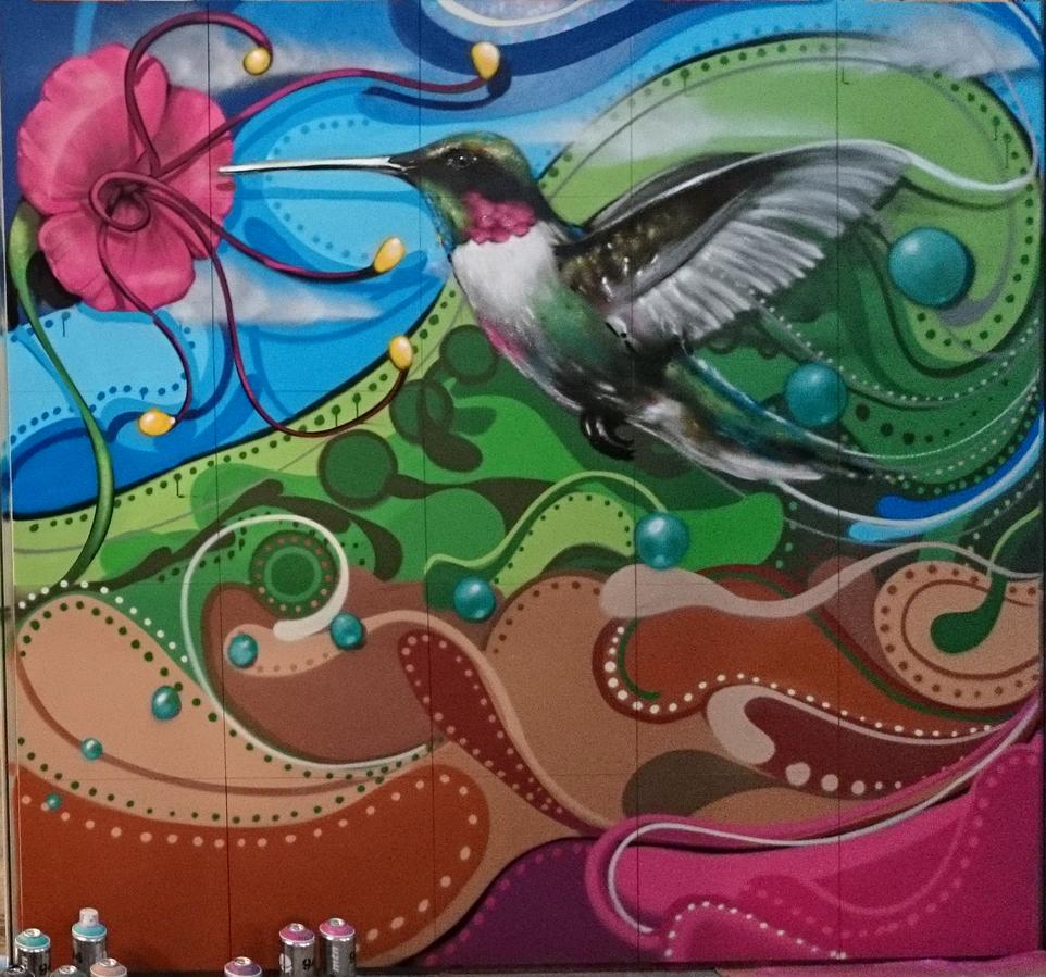 Graffiti decoraci n murales arte urbano for Murales de fotos para pared