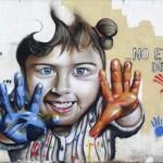 mural nauni 69 niña pintura