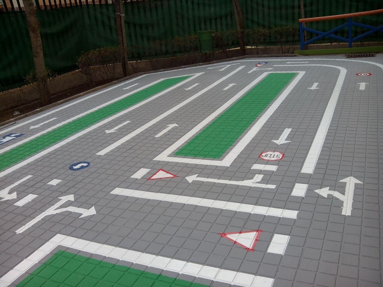 Circuito Vial : Circuito de educación vial nauni one