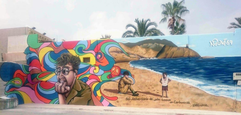 Graffiti Almería, graffiti profesional murales pintura